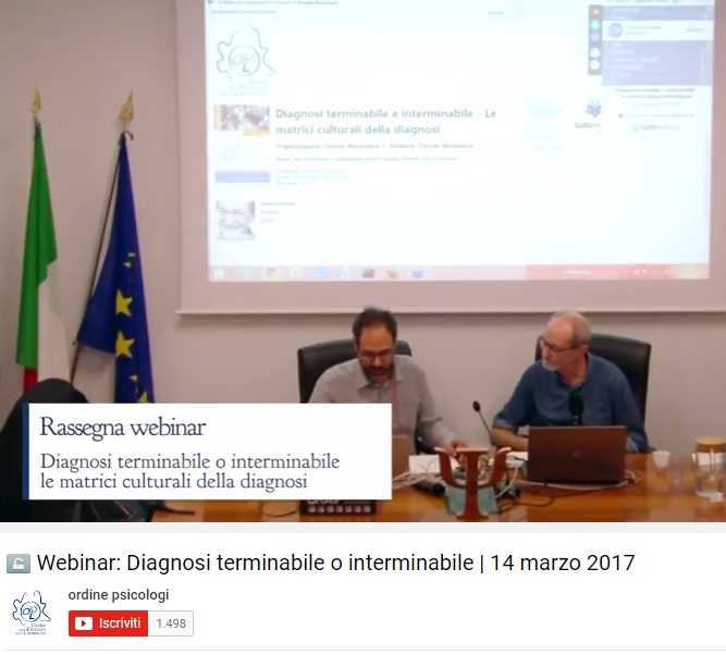 Webinar OPL: Diagnosi terminabile o interminabile - Video integrale