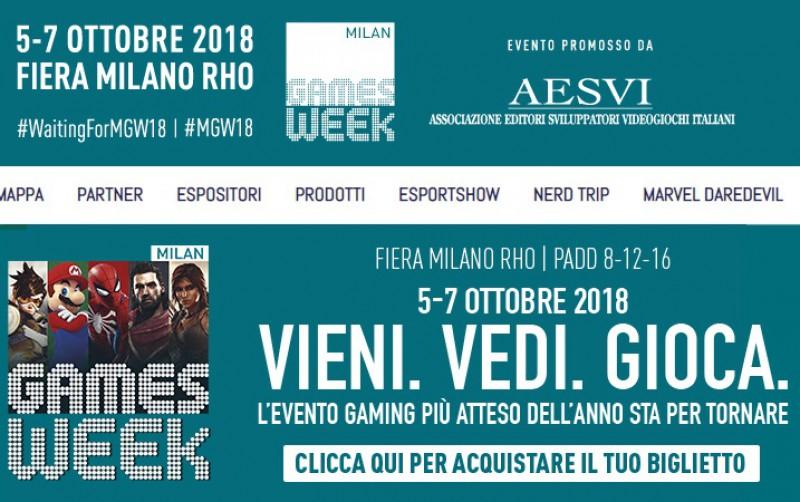 L'OPL alla Milan Games Week   Eventi Partnership ed Eventi