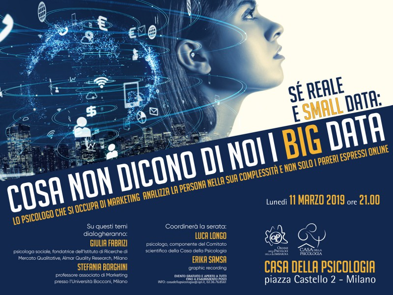 Sé reale e small data: cosa non dicono di noi i big data