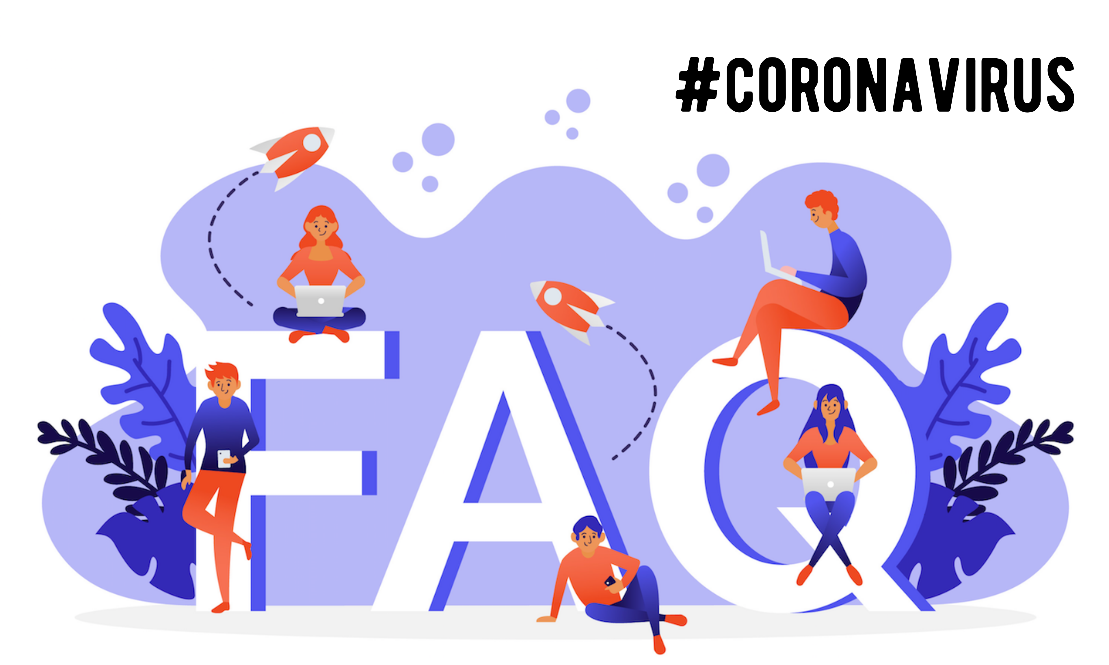 FAQ Coronavirus [Frequently Asked Questions] - aggiornate al 30/03/2020