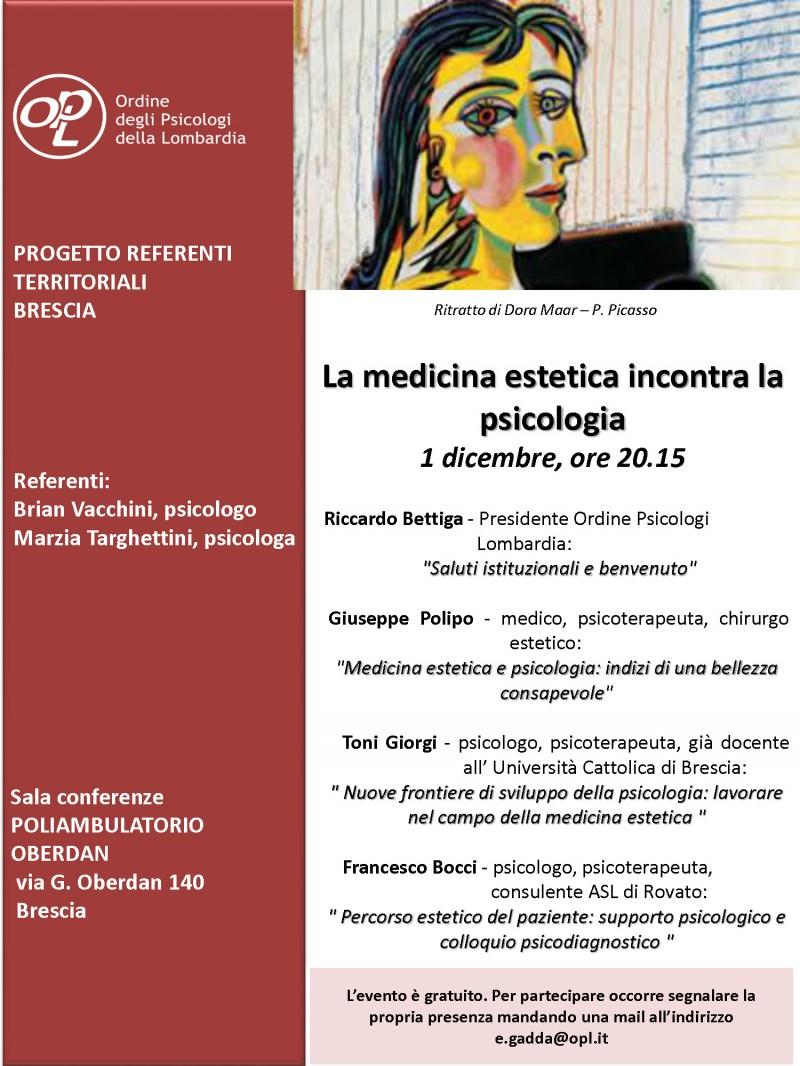 immagine articolo La medicina estetica incontra la psicologia - BRESCIA
